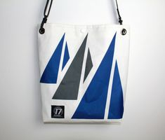 17 Knots Locks Courier Recycled Sail Bag by 17Knots on Etsy