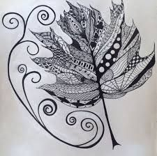 Maple leaf zentangle my drawings, doodles, and zentangles в Easy Doodle Art, Zen Doodle, Easy Drawings For Kids, My Drawings, Zentangle Patterns, Zentangles, Girl Face Drawing, Doodle Art Journals, Stars Craft