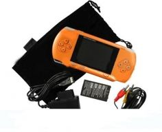 """ORANGE 2.8"""" LCD Portable Game Console With AV-Out And TONS of Built-In Games, Game Disk Included - Best Gift for Kids.$39.94"""