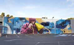 Aurillac, le duo Sismikazot réalise la dernière fresque du festival 10ème Art - AllCityBLog