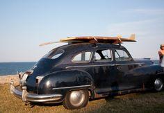 the Doris Duke Surf Fest - vintage ride and vintage boards, love!