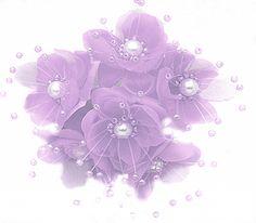 72 Lavender Wedding Bridal Pearl Satin Organza Flower *** Visit the image link more details.