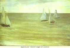 James Abbott McNeill Whistler. Trouville. Olga's Gallery.