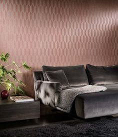FOCUS SYMBOL - Designer Wall coverings / wallpapers from Arte ✓ all information ✓ high-resolution images ✓ CADs ✓ catalogues ✓ contact. Arte Wallcovering, Vinyl Wallpaper, Light Reflection, Designer Wallpaper, Geometric Shapes, Living Spaces, Living Room, Master Bedroom, New Homes