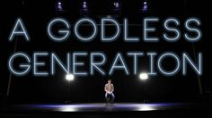 """""""A Godless Generation"""" spoken word by Jon Jorgenson Anima Series, Spoken Word Poetry, Slam Poetry, Christian Movies, Walk By Faith, Inspirational Videos, God Jesus, Amazing Quotes, Wise Words"""