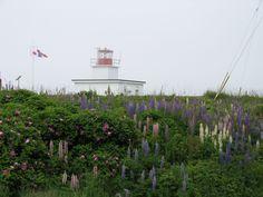 Grand Passage lighthouse, Brier Island, Nova Scotia