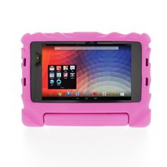 The Gumdrop FoamTech case, with its distinctive tyre-tread design, funky colours and fold down handle / stand is perfect to keep your Samsung Galaxy Tab protected from your little cherubs tantrums! £16.50 http://childproofmytablet.com/gumdrop-foamtech-case/ #gumdrop #samsung #galaxy #tab #foamtech #shockproof #tablet #case