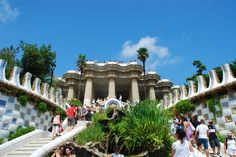 Park Guell ... the real life Alice in Wonderland