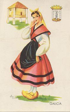Traje tipico de Galicia