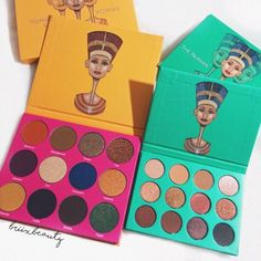 Nubian Palette and Nubian Palette 2 (by Juvia's Place) Makeup Must Haves, Makeup To Buy, Kiss Makeup, Love Makeup, Makeup Inspo, Makeup Inspiration, Beauty Makeup, Huda Beauty, Beauty Tips