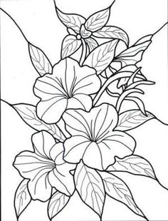 Exotic Flower Coloring Pages   Hawaiian Flower colouring pages (page 2) by chasity