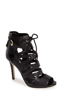 GUESS+'Larkee'+Leather+Cage+Sandal+(Women)+available+at+#Nordstrom $80