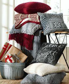 Pottery Barn pillows