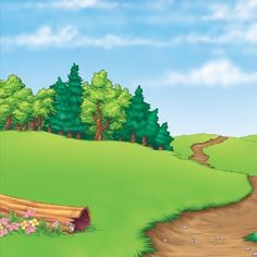 Landscape Black And White Refferal: 2562781827 Scenery Background, Background Clipart, Forest Background, Landscape Background, Cartoon Background, Background Pictures, Forest Illustration, Landscape Illustration, Orla Infantil