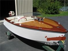 Antique Boat Runabouts - Greavette, Century, Dodge Boats & More