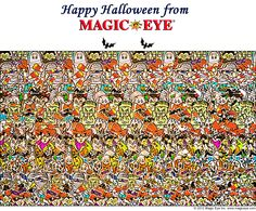 Happy Halloween from Magic Eye