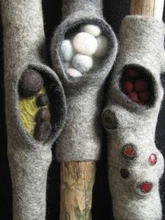 felted twigs by andrea graham