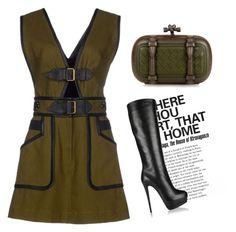 """Outfit #638"" by novemberdelane ❤ liked on Polyvore featuring Yves Saint Laurent, 10 Crosby Derek Lam, Giuseppe Zanotti, Bottega Veneta and vintage"