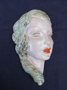 1930's Goldscheider Wall Mask