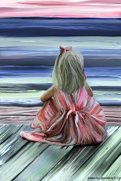 45 Beautiful Examples Of Acrylic Painting Painting People, Love Painting, Painting & Drawing, Beginner Painting, Beach Art, Love Art, Painting Inspiration, Art Projects, Art Photography