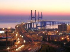 Vasco da Gama Bridge Lisbon Portugal: Architectural Places You Should See Even Once in Your Life