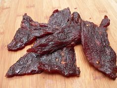 How to make Spicy Teriyaki Jerky in an Electric or Wood Smoker.