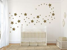 Stars Decal Star Wall Decals Shape Disney by GetCreativeStudios