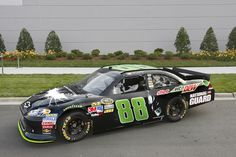 Dale Earnhardt Jr. Reveals Winning Design For His THE DARK KNIGHT RISES Race Car - the new Batmobile?
