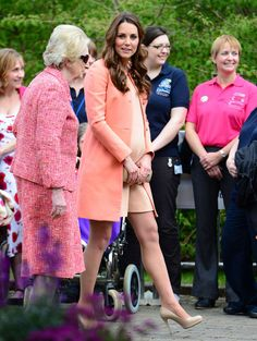Princess Kate Middleton's Pregnancy Style. <3