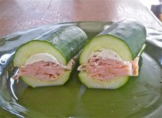 Cucumber Subs « during this hot summer season, this makes an extremely refreshing healthy lunch