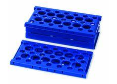 Pop up test tube rack - blue