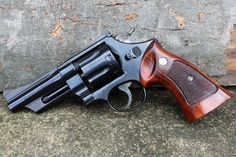 Smith and Wesson Model 28 chambered in .357 Magnum, a classic beauty and the first magnum handgun I ever shot with my grandfather.