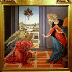 Sandro Botticelli The Annunciation