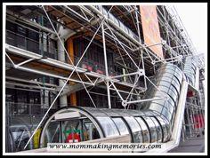 Pompidou Centre. Paris