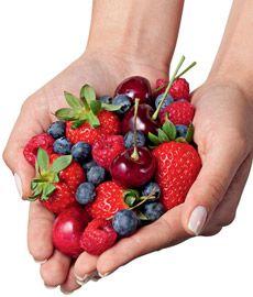 Frutas vermelhas protegem a memória