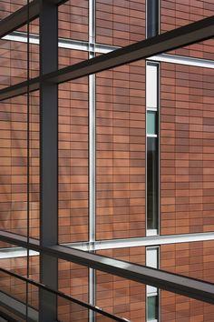 University of Michigan, Biomedical Science Research Building Terracotta Rainscreen - Shildan Terracotta Rainscreen Facade