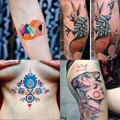 10 perfis inspiradores de tatuagem para seguir no Instagram http://followthecolours.com.br/tattoo-friday/10-perfis-inspiradores-de-tatuagem-para-seguir-no-instagram/