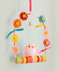 New Crafts, Creative Crafts, Easter Crafts, Arts And Crafts, Magic Decorations, Flower Decorations, Mobiles, Diy For Kids, Crafts For Kids