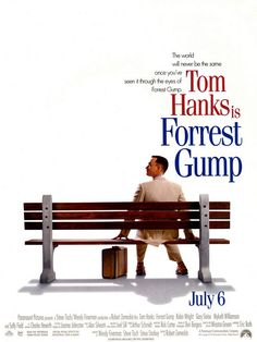 Forrest Gump (1994) - has to be one of my favorites of all time