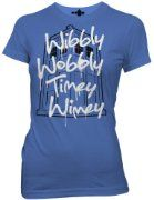 Doctor Who Wibbly Wobbly Timey Wimey Juniors T-shirt:Amazon:Clothing