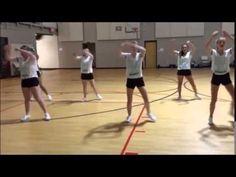 How to Do Cheerleading Dance Combinations Cheerleading Chants, Cheer Tryouts, Football Cheer, Cheer Coaches, Cheerleader Dance, Cheer Dance Routines, Cheer Moves, Youth Cheer, Cheer Camp
