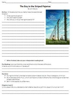 character analysis of the boy in the striped pyjamas The boy in the striped pyjamas by alethea chong (ally) ~ critical analysis ~ the boy in the striped pyjamas is a novel that was written by john boyne.