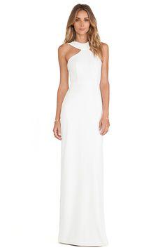 AQ/AQ Libby Maxi Dress in Cloud Cream via Revolve or AqAq http://www.aqaq.com/list/female/dresses?category_dress_length=89&colourway_color_filter=81_75