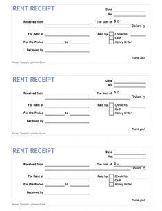 free printable rent receipt form pdf from vertex42com chickenhouses