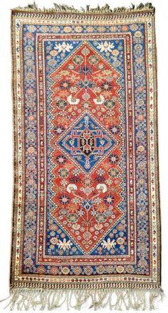 Gallery Nomad will exhibit this antique Qashgai. Read more about Larta
