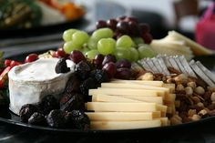 Fruit and cheese platter | Flickr - Photo Sharing!