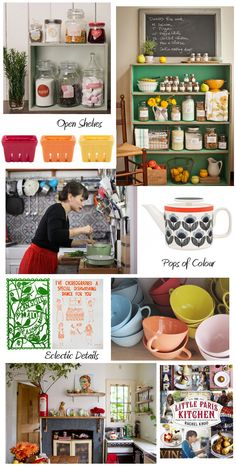 Heart of the Home - Eclectic Kitchens. I'm dreaming about fabulous quirky kitchens over at the @Life Instyle blog today.
