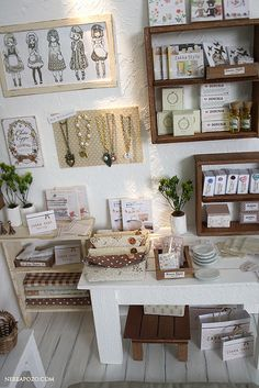 ZAKKA SHOP by Keera on Flickr. - A little bit of sewing room inspiration. Have long wanted a really muted workspace so my attention is drawn to the task at hand.