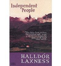 Book cover for Independent People, by Halldor Laxness. See Pete's review here: http://chaptersandscenes.wordpress.com/2014/01/17/pete-reviews-independent-people/