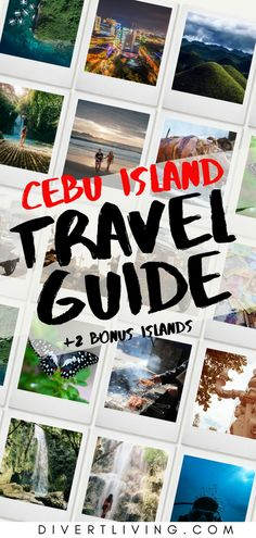 Cebu Philippines is one of the most exotic locations to visit in the Philippines. With breathtaking couthry side in the south and incredible bustling city in the north you will always have tons to do. This entire island guide will walk you through everything you need to know about Cebu Philippines!